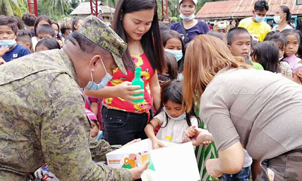 Operation Christmas Drop program in the Conflict-affected areas receive Bundles of Joy