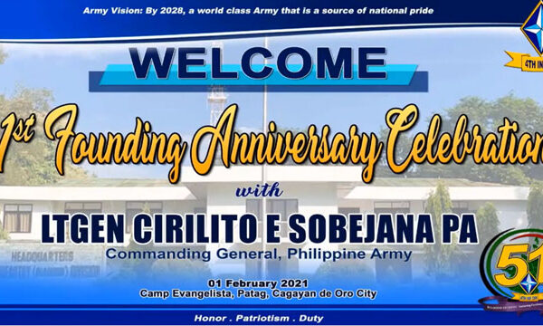 4th Infantry Division 51st Founding Anniversary
