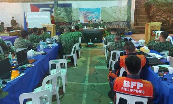 Government forces combine efforts in securing businesses in Misamis Oriental