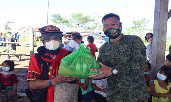 24 Former Rebels receive Pamaskong Handog in Bukidnon