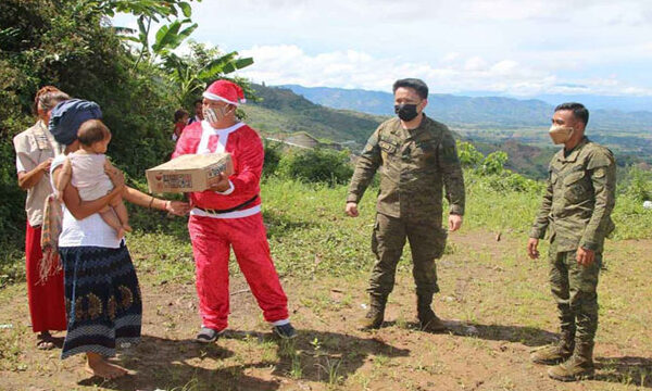 Santa delivers gifts to an IP community