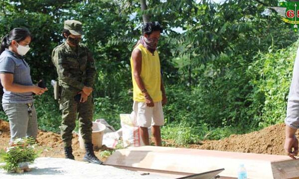 Bayugan CTF-ELCAC provides decent burial to unidentified deceased CPP-NPA Terrorist