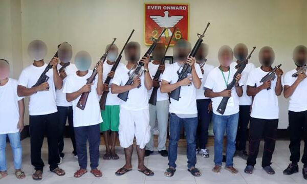 13 Rebels surrender as NPA Anniversary draws near