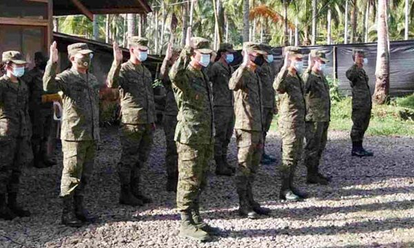 Matatag Fighters reaffirms oath of duty during Army's 124th Anniversary