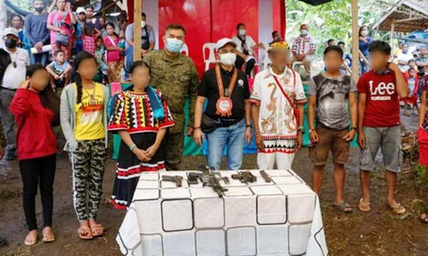 Another 13 Rebels Yields to Army in Agusan Sur; NPA Surrenderers Reaches 567 in 402Bde AOR
