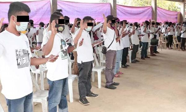 19 MBs surrender, 285 others withdrew CNT Support in recently held pledge of allegiance ceremony in AgNor Town