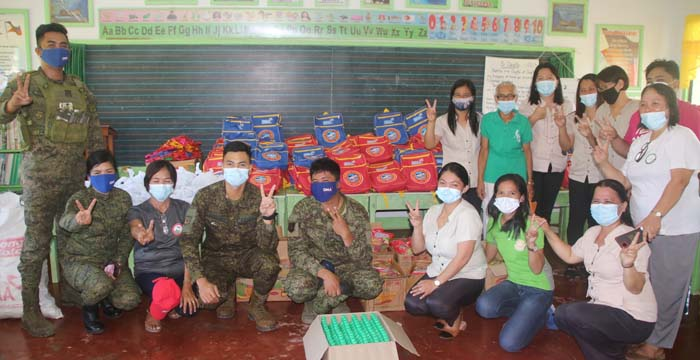 Army Assisted GMA Kapuso Foundation Inc. in Supply Distribution in SurSur