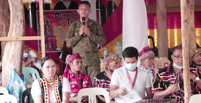 23IB Strengthens Ties with IPs, Leaders in Gingoog Village Thru Ritual