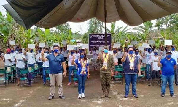 Claveria IPs and Former Rebels Completes TESDA Training