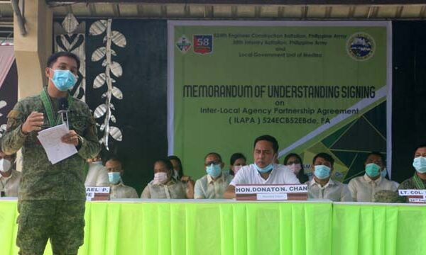 LGU Medina Teams Up with the Philippine Army to Improve Lives in Far-flung Areas with Farm to Market Road Projects
