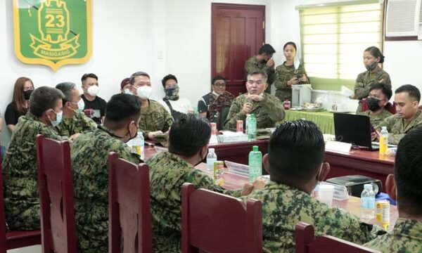 23IB, ADNPNP Conduct 1st Security Coordinating Conference; Join Forces to Stop NPA Extortion