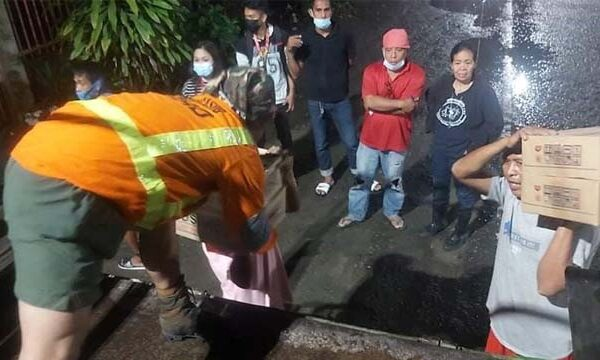 23IB Embarks On Rescue, Relief Ops in Typhoon-hit Areas