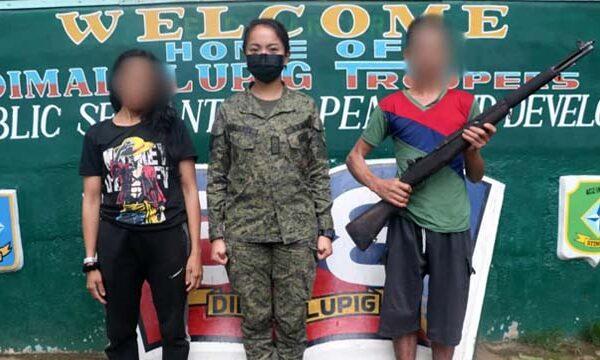 High-ranking NPA Couple Surrenders in MisOr