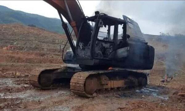 NPA Burns Civilian Equipment, Violates IHL anew in Surigao del Norte