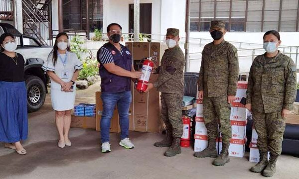 DILG 10 Turns Over Another Batch of Office Equipment for RTF ELCAC 10 OpCen in 4ID