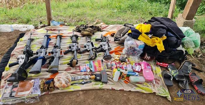 88IB recovers 6 firearms, captures 4 NPA rebels in Bukidnon