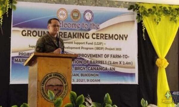 Cabanglasan, Bukidnon Local TF- ELCAC launches Php 20M BDP Project to End Local Communist Armed Conflict
